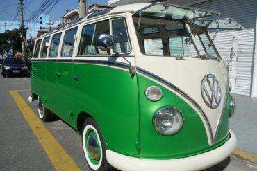 Rekonstruktion – T1 Bulli Luxus Samba mit Faltdach – Brasilien 1968 – Ref. S007