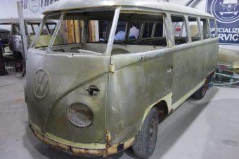 Rekonstruktion – T1 Bulli Luxus Samba mit Faltdach – Brasilien 1974 – Ref. S009