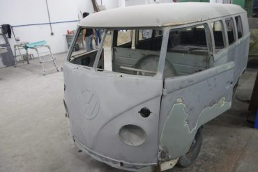 Rekonstruktion – T1 Bulli Luxus Samba mit Camper – Brasilien 1961 – Ref. C004