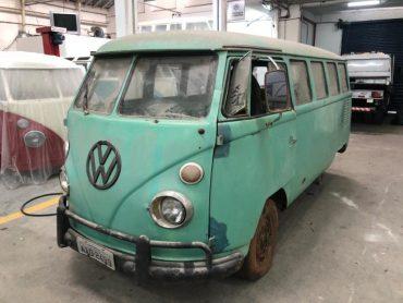 Rekonstruktion – T1 Samba Bulli mit Faltdach – Brasilien 1967 – Ref. S012
