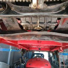 Bent motor mount