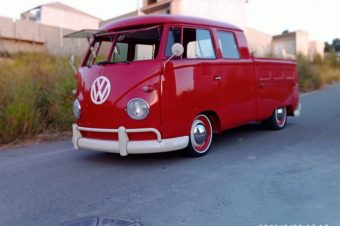 Volkswagen T1  Doppelkabine-Brasilien 1962- Ref. C705